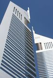 Dubai - emirates towers Royalty Free Stock Image