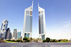 Dubai. Emirates Towers Royalty Free Stock Photo