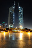 Dubai. Emirates Towers Royalty Free Stock Images