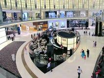 dubai emiratesgalleria Arkivfoton