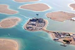 Dubai a Espanha de França de Suíça de Alemanha Áustria das ilhas de mundo Foto de Stock Royalty Free