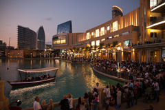 Dubai Evening Stock Photos