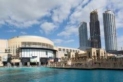 DUBAI FÖRENADE ARABEMIRATEN - DECEMBER 10, 2016: Den Dubai gallerian, Förenade Arabemiraten Det är den största köpcentret för vär Arkivbild