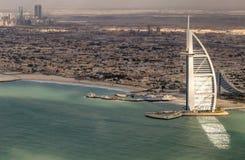 DUBAI FÖRENADE ARABEMIRATEN - DECEMBER 2016: Världs mest luxuri Royaltyfri Foto
