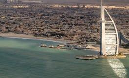 DUBAI FÖRENADE ARABEMIRATEN - DECEMBER 2016: Världs mest luxuri Arkivfoton