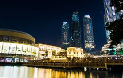 DUBAI FÖRENADE ARABEMIRATEN - FEBRUARI 5, 2018: Dubai galleriabyggande Royaltyfria Foton
