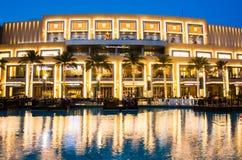 DUBAI FÖRENADE ARABEMIRATEN - FEBRUARI 5, 2018: Dubai galleriamoder Fotografering för Bildbyråer