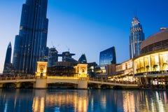 DUBAI FÖRENADE ARABEMIRATEN - FEBRUARI 5, 2018: Dubai galleriamoder Arkivbild