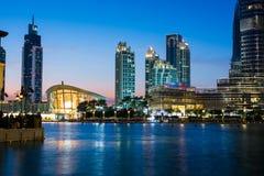 DUBAI FÖRENADE ARABEMIRATEN - FEBRUARI 5, 2018: Dubai opera och Arkivbilder