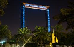 Dubai Förenade Arabemiraten, Februari 11, 2018: Dubai rambuil Arkivfoto