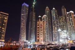 Dubai Förenade Arabemiraten, 24 mars 2016: Flottan Fotografering för Bildbyråer