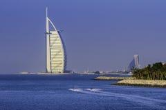 DUBAI FÖRENADE ARABEMIRATEN - OKTOBER 2 2012: Burj Al Arab Arkivbilder
