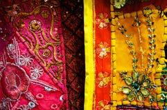 Dubai Fabrics Stock Image