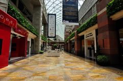 Dubai Festival City Mall empty ramadam Stock Photography