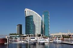 Dubai Festival City Marina Stock Images