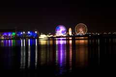 Dubai festival city royalty free stock photography