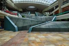 Dubai-Festival-Stadt-Mallwasserfälle Lizenzfreie Stockfotos