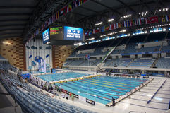 Dubai Fina swimming championship 2012 Stock Images