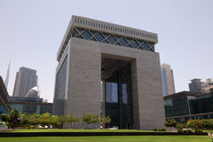 Dubai Financial Centre (DIFC) Stock Photography