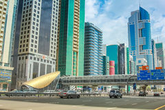 Dubai Financial Centre Stock Images