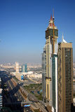 Dubai financial district Royalty Free Stock Photography