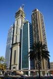 Dubai financial district Royalty Free Stock Image