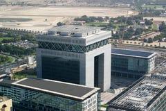 Dubai finansiell stad royaltyfria bilder