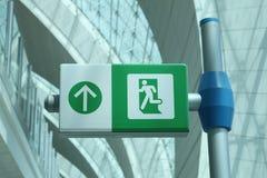 Dubai-Flughafen Stockfotos