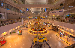 Dubai flygplats Arkivfoto