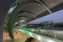 Dubai flygplatsterminal 3 Royaltyfri Bild