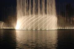 dubai fontanna Fotografia Stock