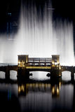 dubai fontanny woda obrazy stock