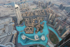 Dubai Fountain Royalty Free Stock Photography