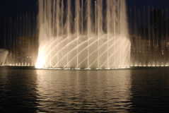 Dubai fountain Stock Photography