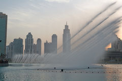 Dubai Fountain Royalty Free Stock Photography