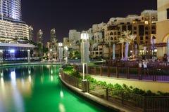 The Dubai Fountain Stock Image