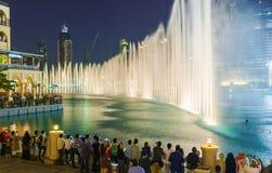 The Dubai Fountain Royalty Free Stock Photography