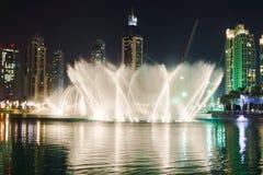The Dubai Fountain Royalty Free Stock Image