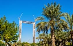 Dubai Frame under construction Royalty Free Stock Photo