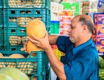Dubai Fruit and Vegetable Market Stock Photos