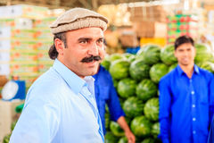 Dubai Fruit and Vegetable Market Royalty Free Stock Images