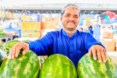 Dubai Fruit and Vegetable Market Stock Photography