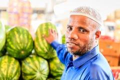 Dubai Fruit and Vegetable Market Royalty Free Stock Photo