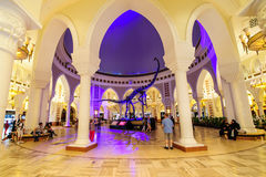 Dubai galleria, Dubai, UAE Royaltyfri Bild
