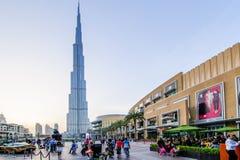 Dubai galleria, Dubai, UAE Arkivfoton