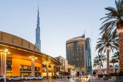 Dubai galleria, Dubai, UAE Royaltyfria Bilder