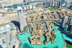 Dubai galleriasikt. Arkivbilder