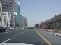 Dubai-Geschäftsstadt stockbilder