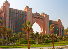 Dubai Hotel. The famous Atlantis Hotel in Dubai Stock Photo