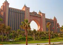 Dubai Hotel. The famous Atlantis Hotel in Dubai stock photo